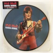"""David Bowie Rebel Rebel 7"""" Vinyl 40th Anniversary Picture Disc New Sealed"""