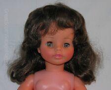 "Vintage 1970 Raynal Poupees Furga Faced Nancy? Crier Vinyl Doll France 17"" Tall"