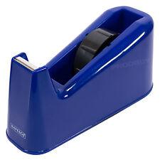 Blue 25mm Tape Dispenser Heavy Duty Cellotape Sellotape Home Desktop Gift Wrap