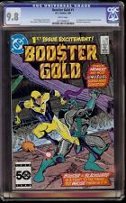 Booster Gold # 1 CGC 9.8 White (DC, 1986) 1st appearance of Booster Gold