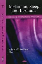 Melatonin, Sleep and Insomnia by Nova Science Publishers Inc (Hardback, 2011)