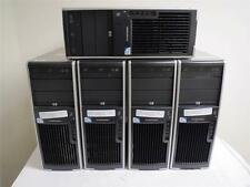 Lot of 5 HP xw4600 Workstation Core 2 Quad Q8200 2.33GHz 4GB 160GB Dual Monitor