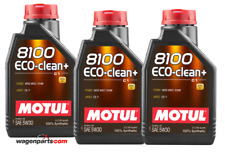 Aceite Motor Motul 8100 Eco-Clean+ 5W30 Acea C1 Mazda FAP Fuel Eco, 3 Ltr
