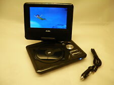 ALBA CDVD7SW 7 inch portable Swiwel Screen In Car DVD Player WITH DEFECT #565