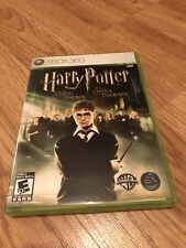 Harry Potter And The Order Of The Phoenix Xbox 360 Nice Disk Works VC8