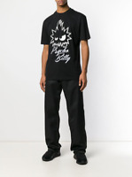 END OFF SUMMER SALE- ALEXANDER MCQUEEN McQ Black Graphic Print T-shirt