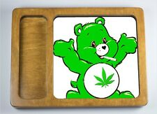 Smoking Care Bear Rolling Tray Size 8x6x1 Made in USA Smokers 420