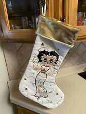 Collectible Betty Boop Christmas Stocking~1998