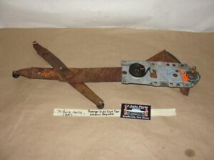 OEM 74 Buick Apollo 2 Dr RIGHT PASSENGER SIDE FRONT DOOR WINDOW REGULATOR
