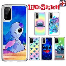 Disney Lilo & Stitch Funda para Samsung Galaxy S10 Luz S20 A10 A40 A41 A51 A21s