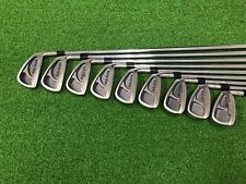 NICE Top-Flite Golf TOUR OVERSIZE Iron Set 2-PW Right RH Steel STIFF Used Mens