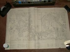 3 x Old Ordnance Survey Maps.(see details) . Bishop's Stortford Area
