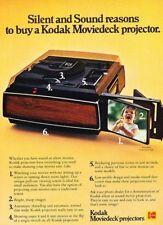 1978 Kodak Moviedeck Projector Original Advertisement Print Art Ad J881