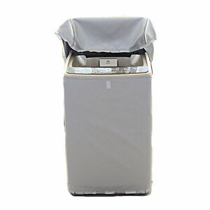 Waterproof Washing Machine Zippered Top Dust Cover Automatic Roller Washer Dryer