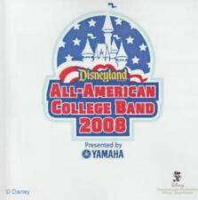 Disneyland All-American College Band 2008 PROMO w/ Artwork MUSIC AUDIO CD 17 trk