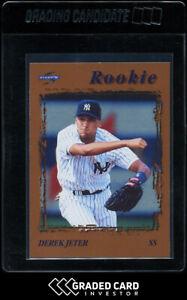 1996 Score Dugout Collection Derek Jeter Rookie RC #106 🏆  HOF