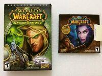 World of Warcraft & The Burning Crusade Expansion Set - 2 pack lot