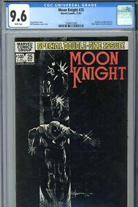 Marvel Moon Knight #25 CGC 9.6 WP 1st Black Spectre