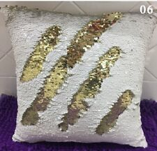 Mermaid Reversible Sequin Christmas Cushion Cover
