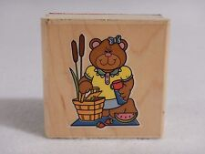Picnic B : Rubber Stamp - Made in the USA - CARSON-DELLOSA Publ CD-8565