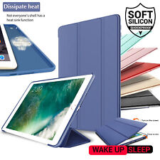 """For iPad Pro 11"""" 2nd Gen 2020 Smart Flip Case Rubber Leather Folding Stand Cover"""