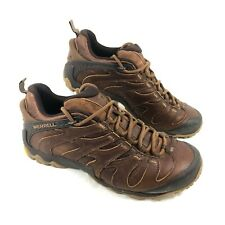 EUC Merrell Cham 7 Slam Luna Hiking Trail Shoes Brown Sz 11 M