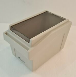 FELLOWS 3.5 Floppy Disc Diskette Box Holds 42 Disks Good Condition
