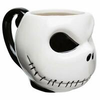 Zak! Designs Nightmare Jack Skellington 3D Sculpted Ceramic Coffee Mug 11 oz.