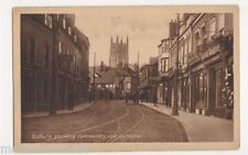 Worcester, Sidbury, showing Commandery & Cathedral Postcard, B447