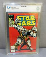 STAR WARS #77 (White Pages) CBCS 9.6 NM+ Marvel Comics 1983 cgc