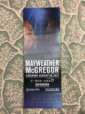 Floyd Mayweather VS Conor McGregor UFC VIP Boxing Ticket  8/26/2017  Unused - 3D