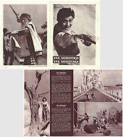 BLAZNOVA KRONIKA - THE JESTER'S TALE Original MINT RARE EXYU Movie Program 1964