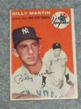 1954 Topps Baseball #13 Billy Martin EX No Creases
