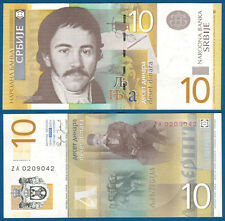 SERBIEN / SERBIA 10 Dinara 2006  ZA  UNC  P. 46