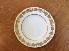 """Wedgwood Gold Whitehall bone china 6"""" bread plate black mark W4001"""