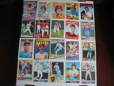 Lot of 20 Philadelphia Phillies baseball cards. 1970s-present, HOF