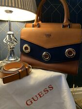 Brand New Guess Boston Bag With Strip