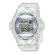 Casio Women's Watch Baby-G World Timer Transparent White Resin Strap BG169R-7E