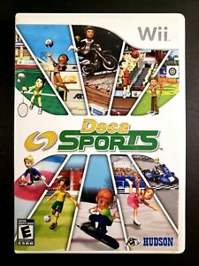 Deca Sports (Nintendo Wii, 2008) Wii - CIB Complete w/ Manual - Tested
