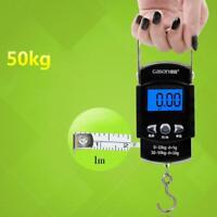 50 KG Digitale Kofferwaage LCD Gepäckwaage Hängewaage Reisewaage Handwaage Bis~