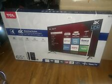 TCL 65 Inch 4K UHD HDR LED Smart Roku TV NICE **L@@K**