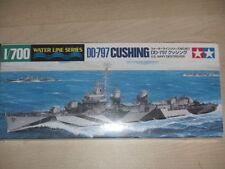 TAMIYA 31907 modellino DD 797 CUSHING U.S.navy destroyer scala ( scale ) 1: 700