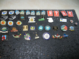 Canadian Provinces, Territories, Cities, Towns, Attractions, Flags Lapel Pins