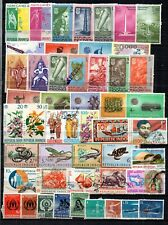 INDONESIA SELECTION OF 134 STAMPS.  PLEASE SEE BOTH SCANS.
