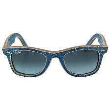 Ray Ban New Wayfarer Blue Denim Gradient Lens 50mm Mens Sunglasses
