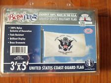 United States Coast Guard - 3'x5' Made in the Usa by Betsy Flags Fade Resistant
