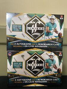2020 Panini Limited NFL Football TWO Hobby Box Break - Pittsburgh Steelers