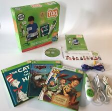 Leap Frog Tag Reading System Bundle, Cat In The Hat, Cars & Toy Story 3 Complete