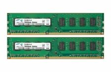 RAM Speicher 2x 8GB 16GB Kit DIMM DDR3 1600 Mhz 240 pin PC3-12800U Samsung