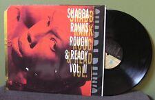 "Shabba Ranks ""Rough & Ready Vol. II"" LP OOP Supercat Mad Cobra Ninjaman"
